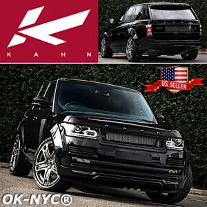 KAHN DESIGN Range Rover Vogue WIDE ARCH BODY KIT + FRONT LOWER SPOILER + GRILLE