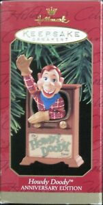 1997 HALLMARK - HOWDY DOODY ANNIVERSARY EDITION  - MINT IN BOX