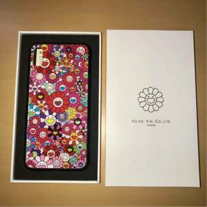 Takashi Murakami kaikaikiki iPhone Xs Max Case Flower Pattern Red zingaro New