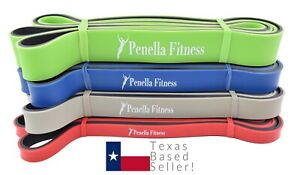 Penella Fitness Resistance Band SET or SINGLE! Heavy Duty Pull up Assistance