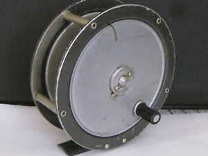 'The Gem' - Vintage fly reel by Hardy - with backing line - Free pp