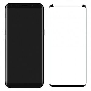 100 PCS Tempered Glass Screen Protector Samsung Galaxy S8 Anti-Scratch Black