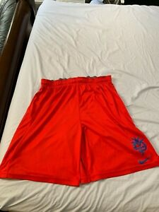 Nike XL Manny Pacquiao Dri Fit Hyperko RED Shorts $66.00