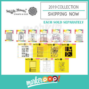Waffle Flower August 2019 Stamp & Die Collection