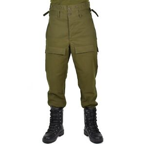 Genuine CZ czech army combat pants M85 O.D olive military trousers