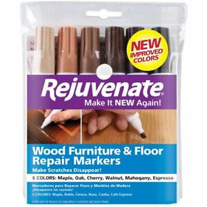 Rejuvenate Wood Furniture  Floor Repair Markers Make Scratches Disappear In Any