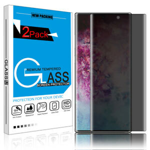 For Samsung Galaxy Note 1010+ Plus Privacy 9H Tempered Glass Screen Protector