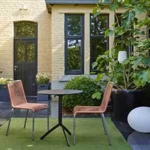 2 Ligne Roset ROSALINA IndoorOutdoor Dining Designer Chairs - Better Than TEAK