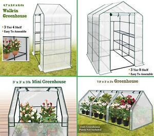 Portable Hot House Gardening Mini Walk in Herb Flower Greenhouse Plant Protect $69.00