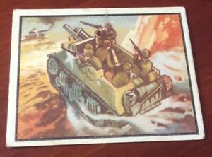 1950 Topps Freedoms War Trading Card #60 Tank Destroyer