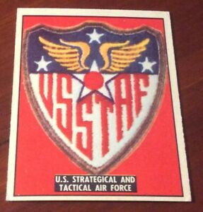 1950 Topps Freedoms War Trading Card #190 US Tactical Air Force