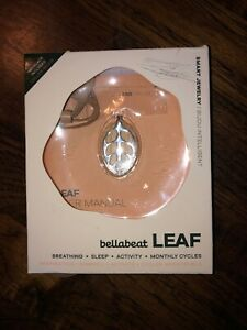 Bellabeat Leaf Nature Health Tracker Smart Jewelry Silver Edition - Used