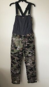 NWT Under Armour Hunting Bib Mid Season Womens  Forest Camo 1316697-940 Small