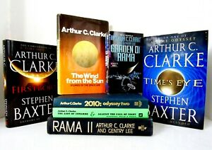 ARTHUR C. CLARKE 7 Books, Mixed Lot SCIENCE FICTION One FIRST EDITION