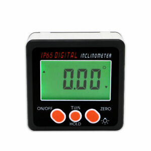 Digital Level Protractor Inclinometer Magnetic Level Angle Meter Angle Finder $18.66