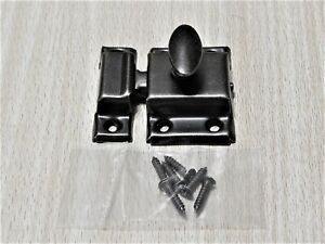 Cabinet Latch with Antique Brass Finish