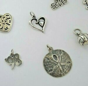 James Avery Sterling Silver .925 Charm - Choose 1 of 18, Some Rare Retired!