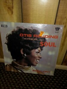 Otis Redding LP LITTLE JOE CURTIS Sing SOUL oscar RIGHT-ON!! In Shrink nice!!
