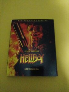 Hellboy (Blu-ray + DVD with Slipcover NO DIGITAL