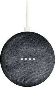 Google Home Mini - Charcoal - Factory Sealed - 50% Off Clearance - Limited Time