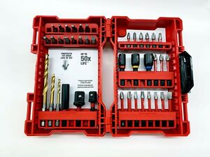 Milwaukee 48-32-4006 Shockwave Impact Hex Drill Bit, Nut Driver 40 Piece Set