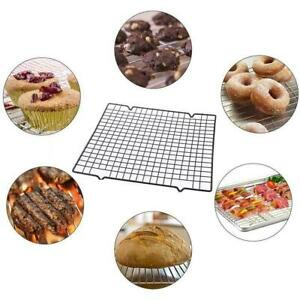 Nonstick Wire Cookie Baking Cooling Rack Frying Bread Cake Grid Tray2pc 10quot;*16quot; $17.38