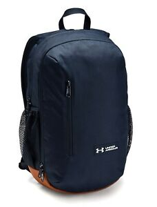 Under Armour UA ROLAND Storm™ 17L Solid Academy Navy Backpack Book Bag