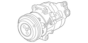 Genuine GM F (S)Compressor Kit 42623009