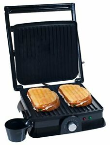 Chef Buddy 80-KIT1019 Panini Press Indoor Grill and Gourmet Sandwich Maker, Elec