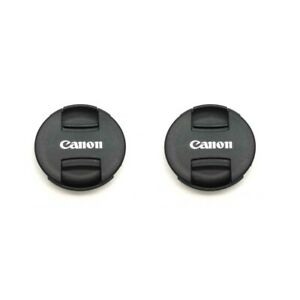 2X Canon II 49mm Lens Cover Cap For Canon EOS M50 M100 M6 With EF M 15 45mm Lens