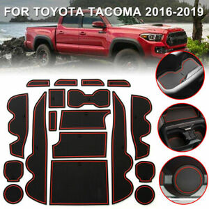 For Toyota Tacoma 2016 2019 Cup Door Center Console Liner Mat Trim Accessories W $16.69