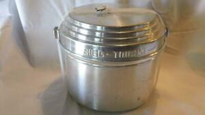 VINTAGE SWISS-MADE SIGG TOURIST ALUMINUM COOK SET (NO STOVE) - FREE SHIPPING