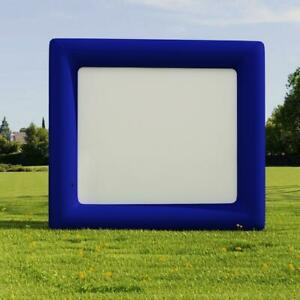 Inflatable Movie Screen Projection Giant Outdoor TV Theater Cinema 13ft x 11.5ft