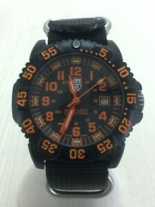 LUMINOX NAVY SEAL COLORMARK Navy SEALs Quartz Analog 3059 #9100 GOOD Wristwatch