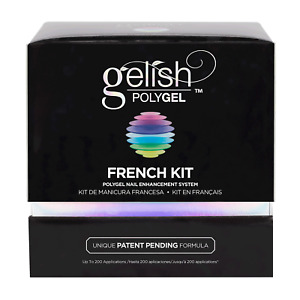 Gelish PolyGel Professional Nail Technician Enhancement French Kit On Sale $118.99