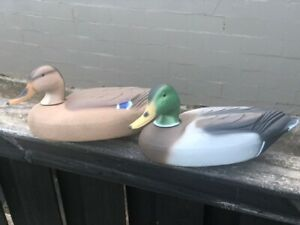 (6) New in Box Herters Mallard Decoys Model 72 Duck Decoys 3D/3H RARE