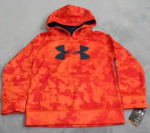 UNDER ARMOUR BOYS' HOODIE SIZE 6 ORANGE $19.99