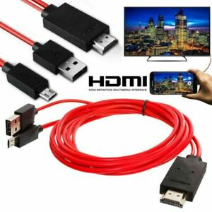 MHL Micro USB to HDMI 1080P HD TV Cable Adapter For Android Phones Samsung US
