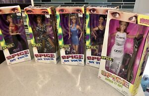 Spice Girls Complete 5 Piece Doll Set New In The Original Box!
