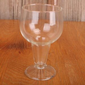Clear Glass Footed Tumbler Water Glass Cup Goblet