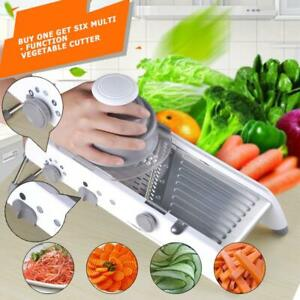 Manual Vegetable Fruit Potato Food Cutter Chopper Kitchen Tools Stainless Steel
