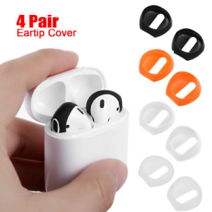 Anti Slip Earbud Silicone  Cover Case  Earphone Tips For Apple AirPods Earpods