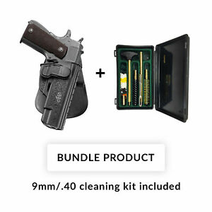 Fobus BUNDLE! Holster 1911CH for Most Kimber 1911 Style Pistols (without rails)