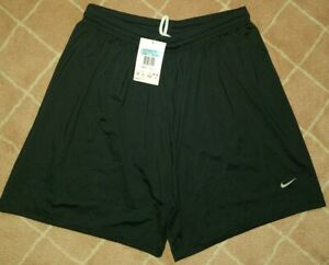 NIKE DRI-FIT BLACK POLYESTER ATHLETIC SHORTS WOMENS SIZE S small 82065