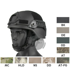 Emerson Tactical ACH MICH 2000 TC-2000 Helmet Head Protector with NVG Shroud