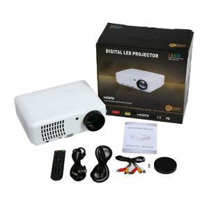 2500 Lumens Full HD 1080p Home Cinema Multimedia LCD Digital LED Projector MY