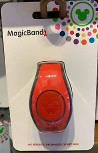 Disney Parks Red Magic Band 2 MagicBand NIP Ready to Link WDW