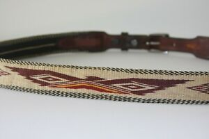 Hitched Horsehair Belt. Size 40