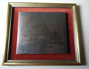 University of Pennsylvania College Hall Contemporary Etching $46.75
