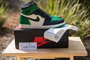 Nike Air Jordan 1 Retro Pine Green High OG I White Black Toe Purple Bred Court